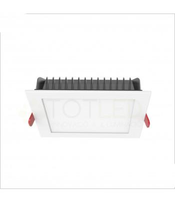 Downlight LED Blanco 12W 3000K (Cálido)