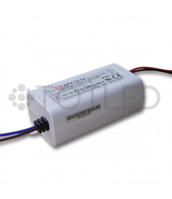 Transformador IP30 12V 12W
