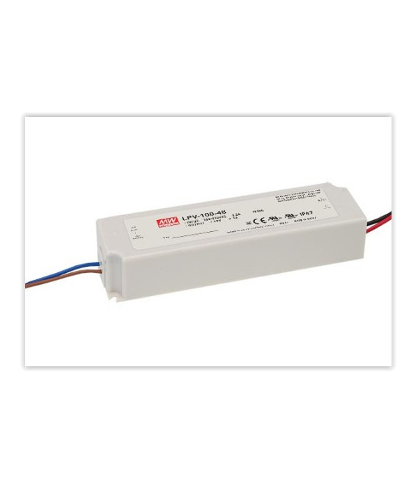TRANSFORMADOR MEAN WELL 100W 12V IP67