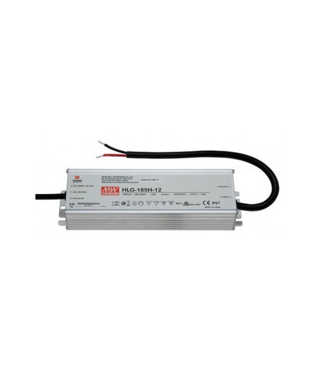 TRANSFORMADOR MEAN WELL 185W 12V IP67