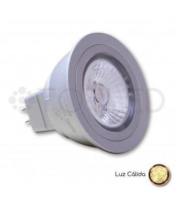 Bombilla Dicroica LED MR16 5W (Cálida)