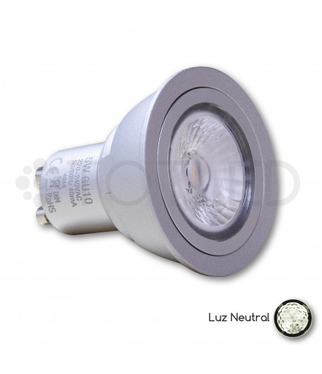 Bombilla Dicroica LED GU10 5W (Neutral)