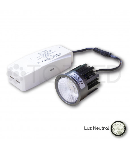Nueva Dicroica LED + Driver 8,5W (Neutral)