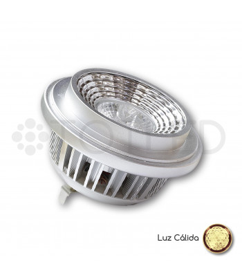 Bombilla AR111 LED 220V 13W (Cálida)