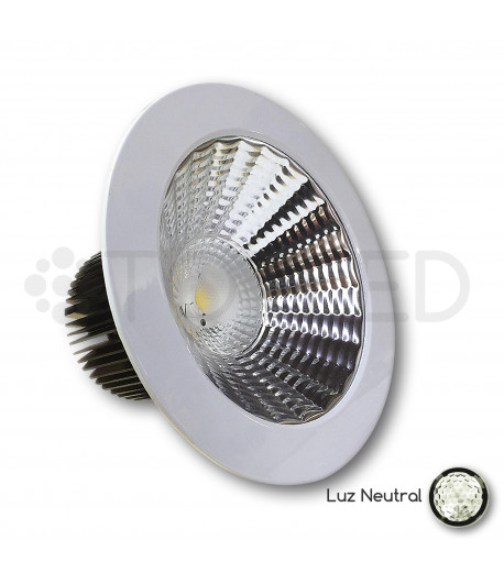 Downlight LED Blanco 33W (Neutral) + Driver dimable