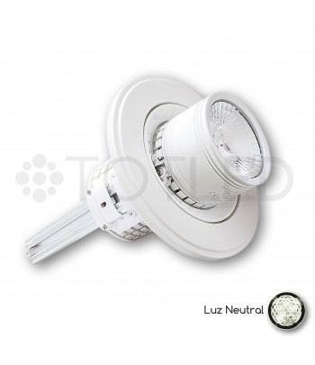 Downlight circular LED Blanco 35W + Driver Dimable (Neutral)