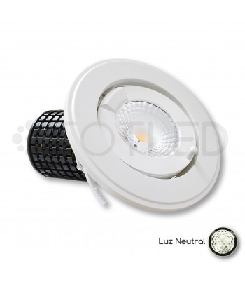 Downlight circular LED Orientable 35W + Driver Dimable (Neutral)