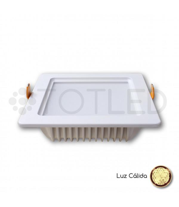 Downlight LED Blanco 12W (Cálido)