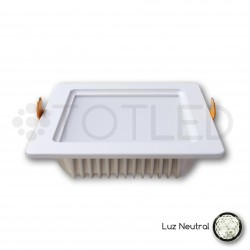 Downlight LED Blanco 12W (Neutral)