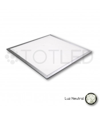 Pantalla LED 60 x 60 cm. 40W (Neutral)