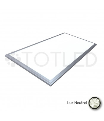 Pantalla LED 120 x 30 cm. 72W (Neutral)