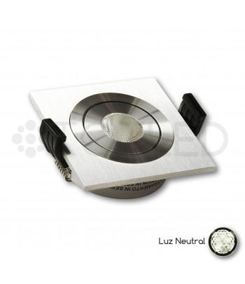 Foco LED Mini Empotrable Orientable 3W Neutral