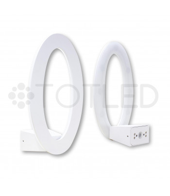 Aplique LED Oval Vertical