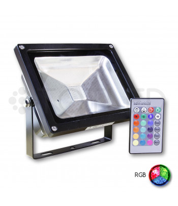 Proyector 10W RGB + Mando a distancia controlador
