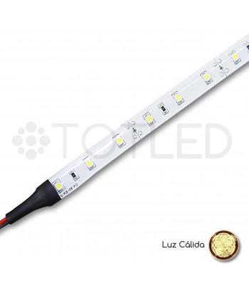 Tira LED 12V Blanca cálida IP55 4,8W