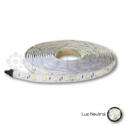 Tira LED 24V Blanca neutral NO IP 10W