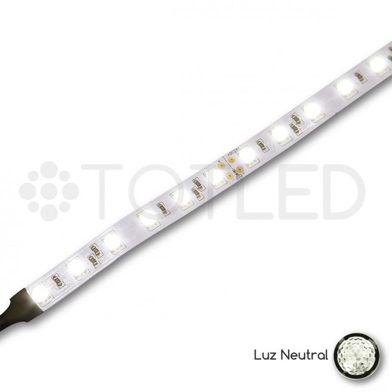 Tira led 24v blanca neutral no ip 14 4w - Precio tira led ...