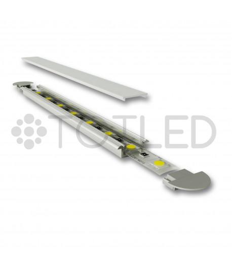 Perfil de aluminio encastrable LN LPF