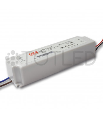 Transformador Mean Well 24V 35W