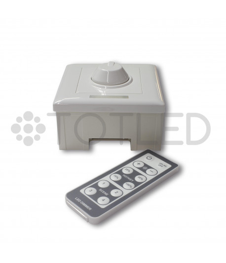 Regulador de botón con control remoto