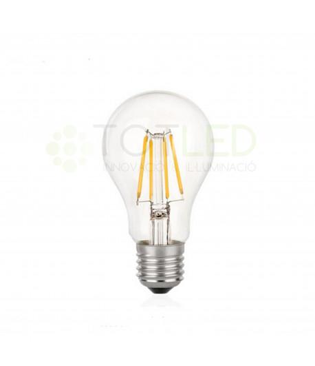 Bombilla LED E27 7W FILAMENTOS (Cálida)