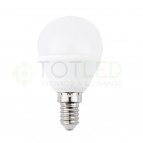 Bombilla LED Redonda E14 5W (Cálida)