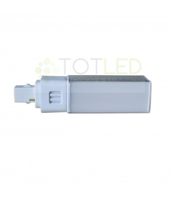 BOMBILLA G24 7W LED 4000K 590LMN 180º (Neutral)