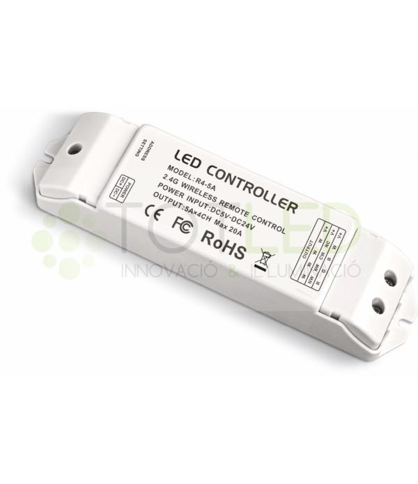Receptor para controlador wifi DX8