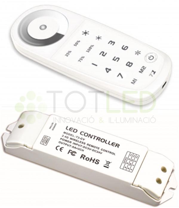 Controlador LED MONOCOLOR 8 ZONAS