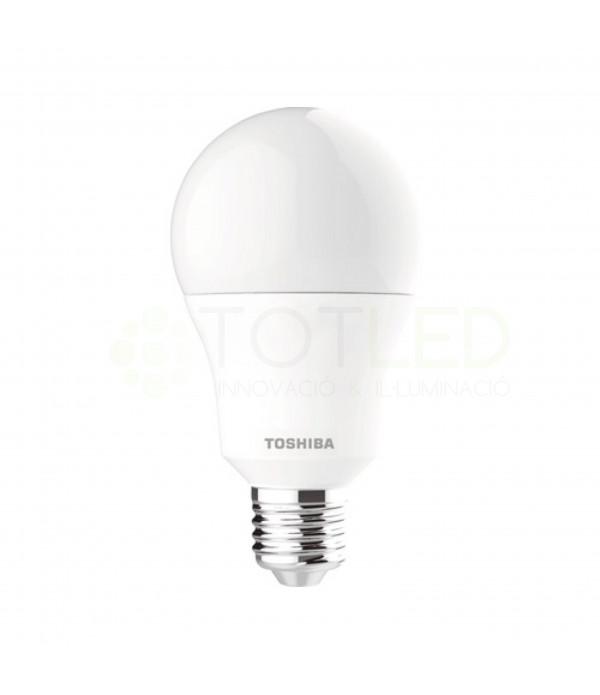Bombilla LED TOSHIBA E27 15W (Cálida)