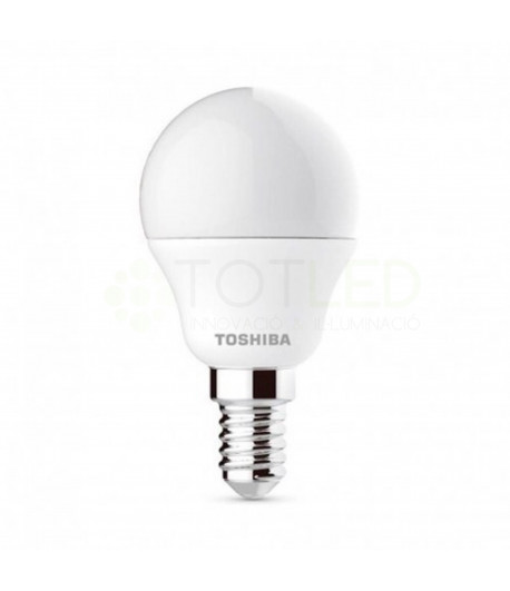Bombilla LED TOSHIBA Redonda E14 5W (Neutral)
