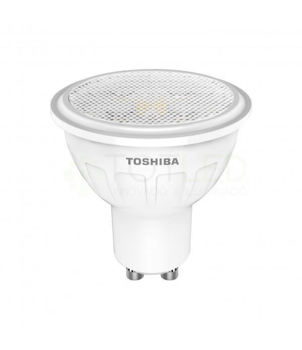 Bombilla Dicroica LED TOSHIBA 5W GU10 (Cálida)