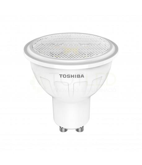 Bombilla Dicroica LED TOSHIBA 5W GU10 (Neutral)