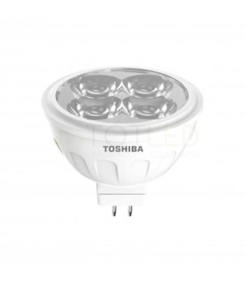 Bombilla Dicroica LED TOSHIBA 5W MR16 12V (Cálida)